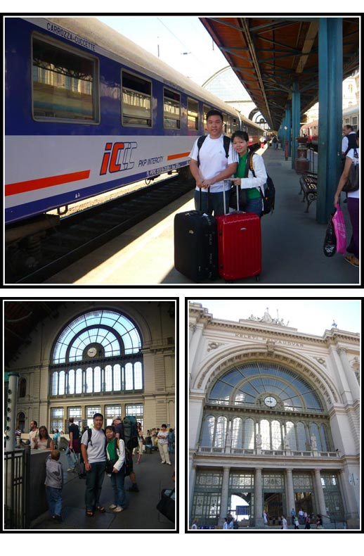 Arrival at Budapest Keleti Train Station