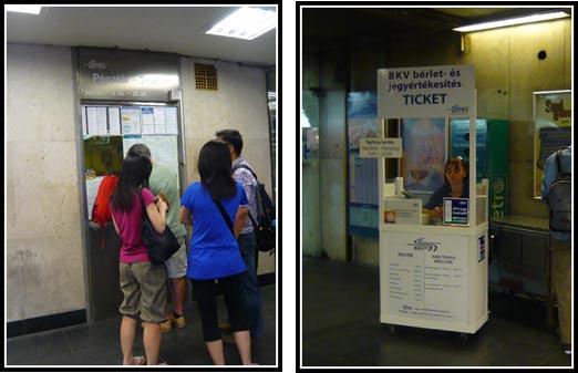 BKV Budapest Metro Ticket Office