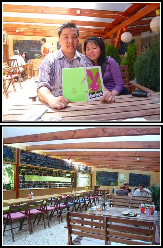 Bobek Cafe Ambiance and Menu