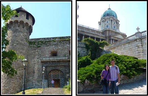 Buda Castle Entrance