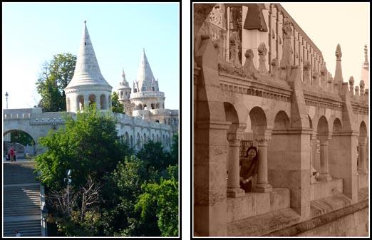 Budapest Fishermens Bastion White Turrets
