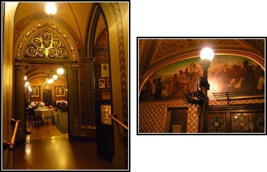 Budapest Karpatia Restaurant Decor