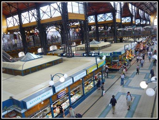 Budapest Marketplace Hungary