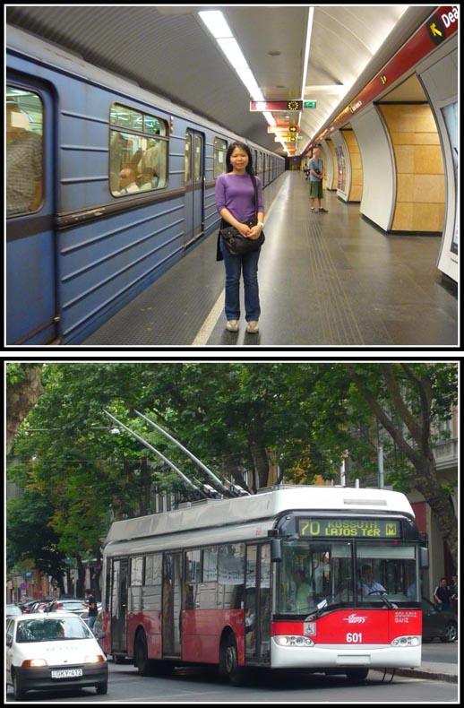 Budapest Metro and TrolleyBus