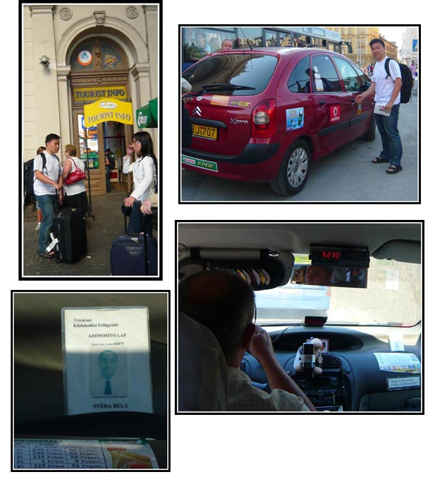 Budapest Taxi Scam