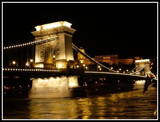 Chain Bridge Night View