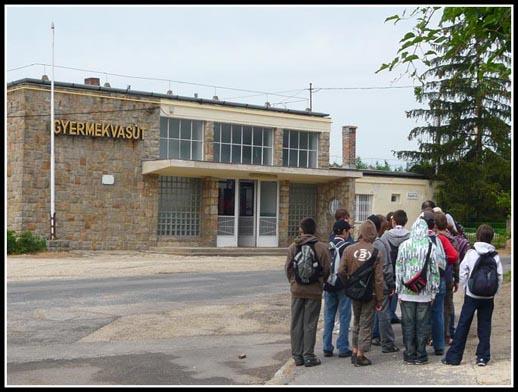 Gyermekvasut Children's Railway Budapest