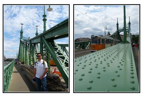 Independence Bridge Budapest