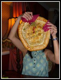 Pierogi Bread Plate