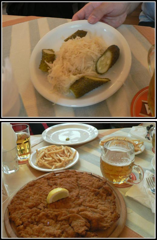 Pod Wawelem Wiener Schnitzel + French Fries