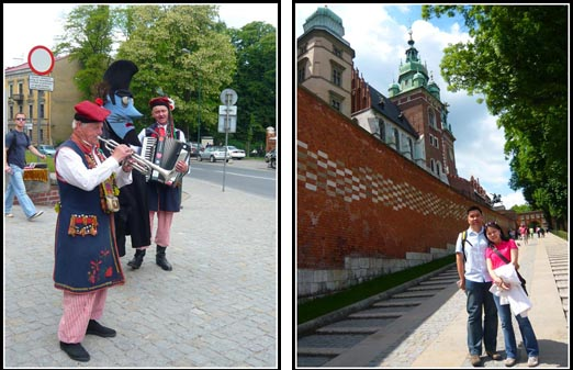 Wawel Castle Entrance