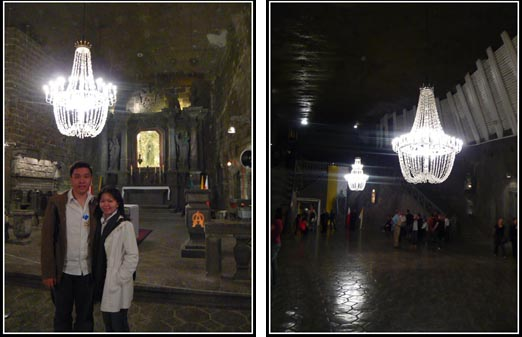 Wieliczka Salt Mine Chapel Salt Chandelier