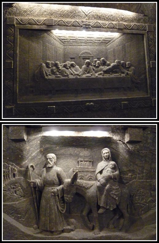 Wieliczka Salt Mine Chapel of Saint Kinga Salt Paintings