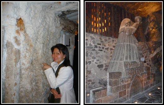 Wieliczka Salt Mine Corpernicus Statue