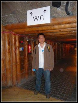 Wieliczka Salt Mine Deepest Toilet