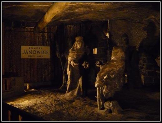 Wieliczka Salt Mine Janowice Chamber