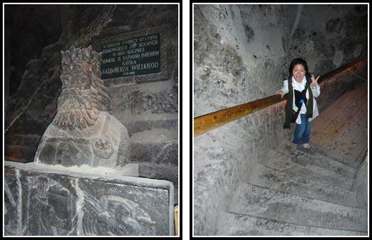 Wieliczka Salt Mine Steps