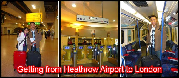 Getting from Heathrow Airport to London