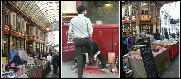 Activities at Leadenhall Market