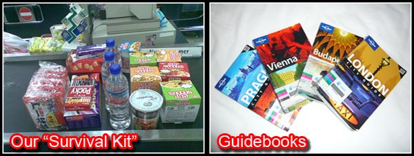 Lonely Planet Guidebooks and Food