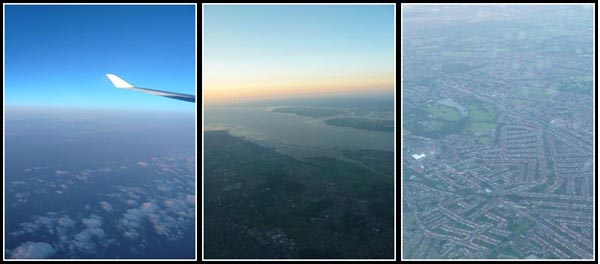 Plane view of London