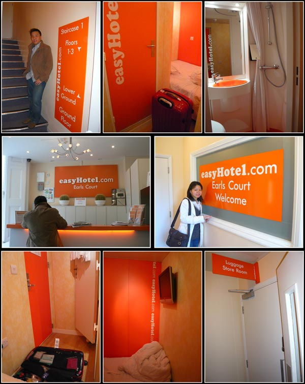 easyHotel Earl's Court London Room View
