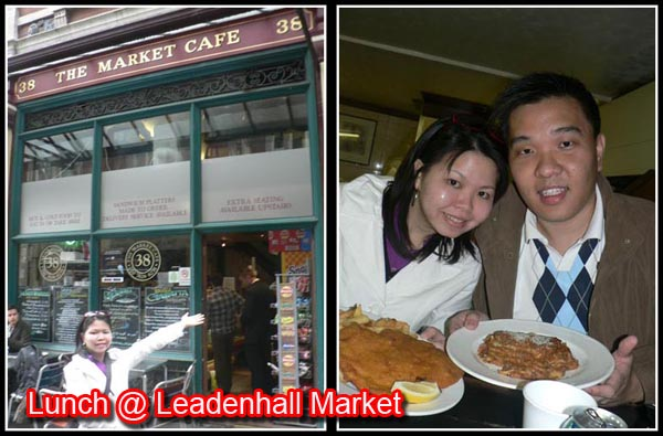 lunch at leadenhall market