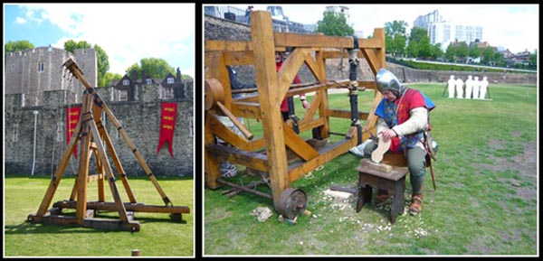 Tower of London Moat and Siege machine