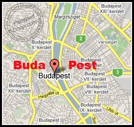 Buda and Pest - Danube River