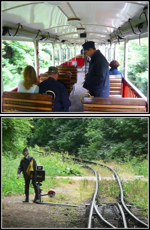 Gyermekvasut Children's Railway Train Conductor
