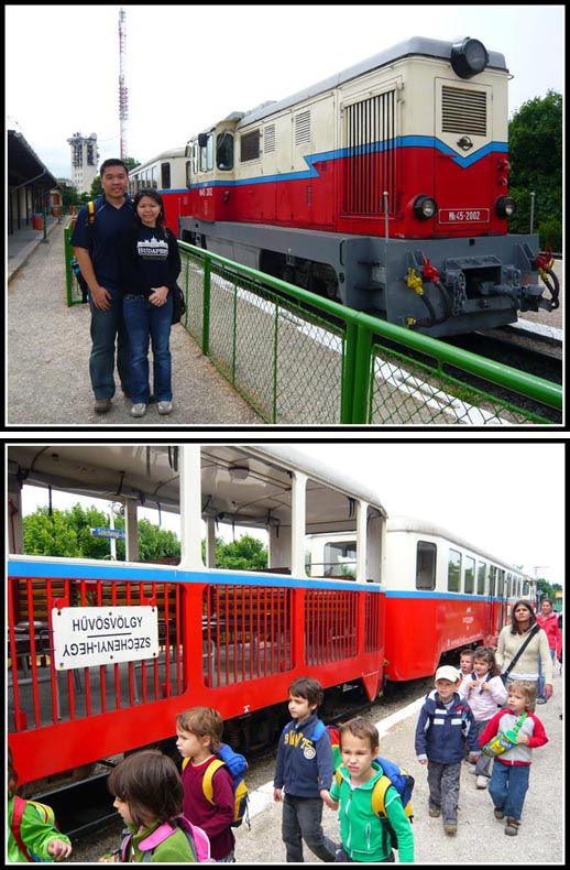 Gyermekvasut Children's Railway Train