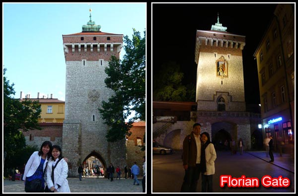 Krakow Florian Gate