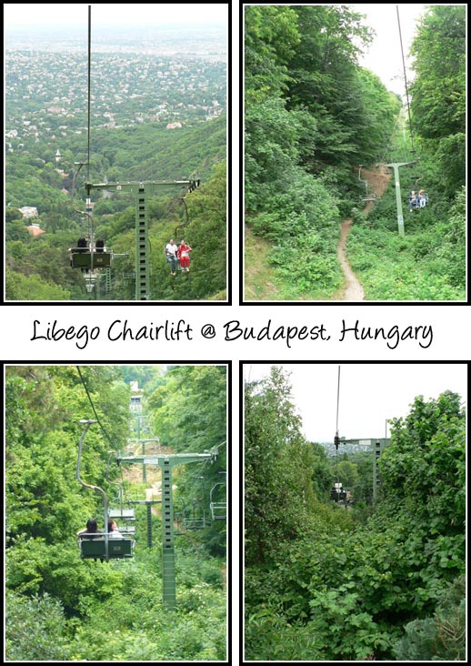 Libego Chairlift Hungary Budapest