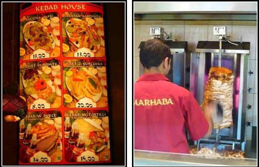 Lunch Marhaba Krakow Kebab