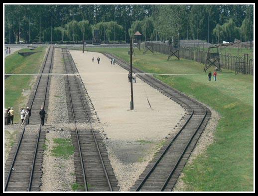 Birkenau Rail Platform