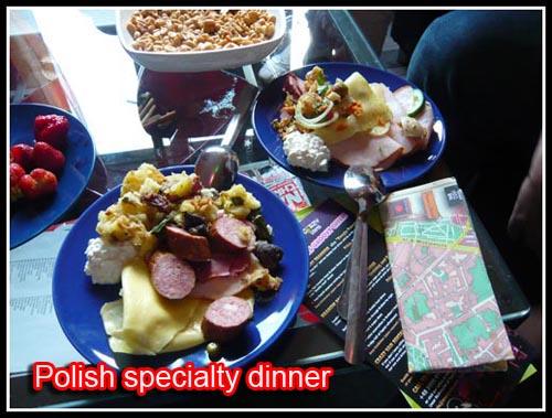 Polish Dinner at Greg and Tom Hostel