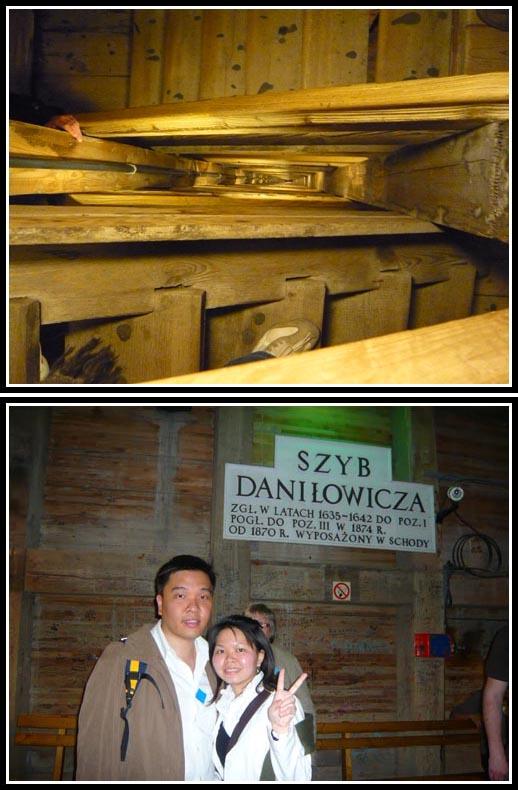 Wieliczka Salt Mine stairways