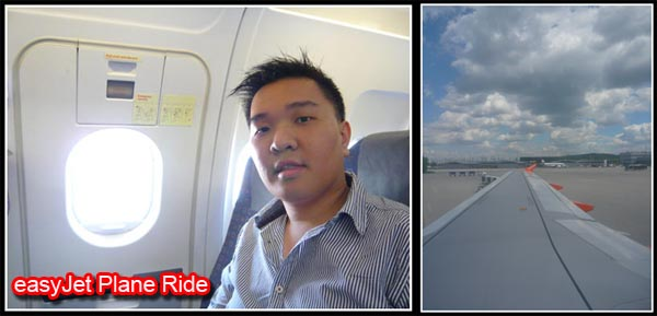 easyJet Plane Ride