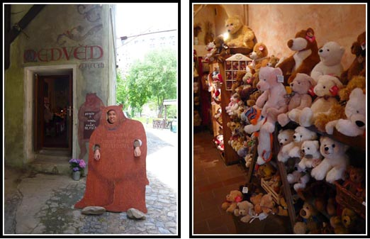 Cesky Krumlov Bear Souvenir