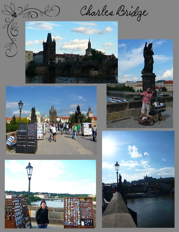 Charles Bridge Buskers Artists Statues Karlov Most