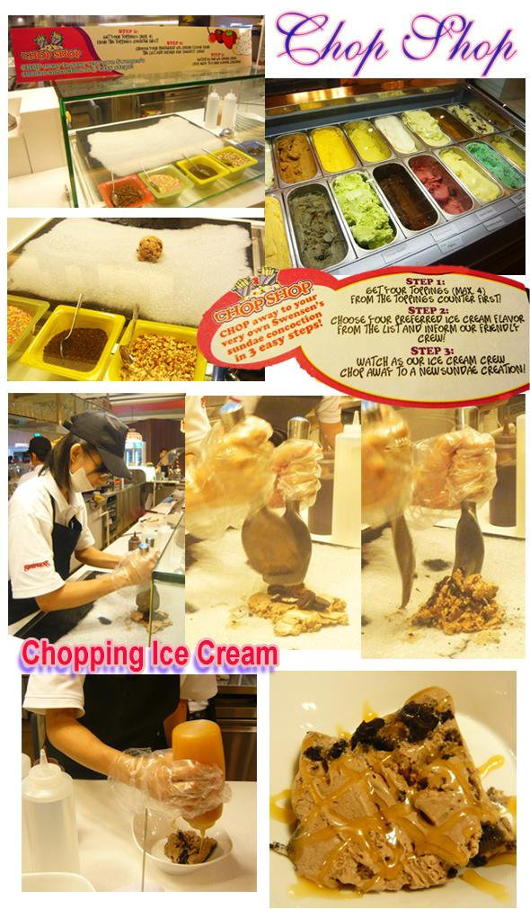 Swensen Ice-Cream Buffet Chop Shop