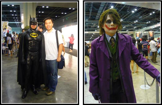 Cosplay Batman and Joker STGCC