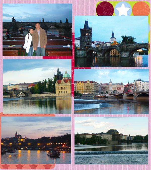 Sights along Vltava River Bank Cruise