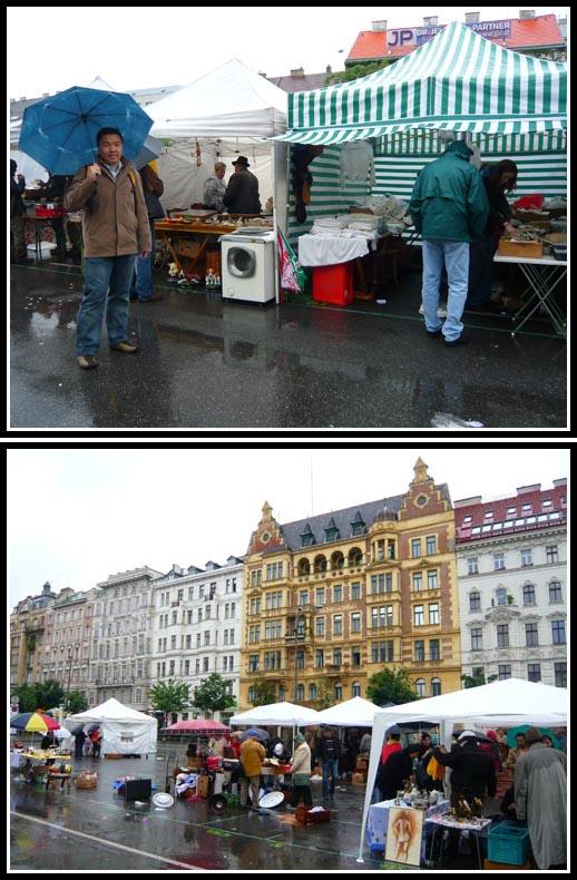 Flohmarkt Vienna Naschmarkt Flea Market Stalls