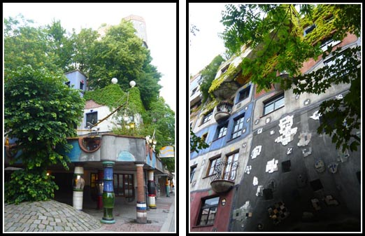 Hundertwasser House Vienna Nature Architecture