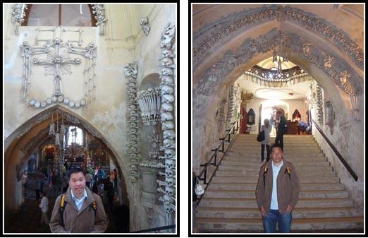 Kutna Hora Bone Church Interior