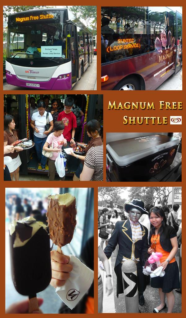 Magnum Promotion Pleasure Campaign Bus Free Ice-cream
