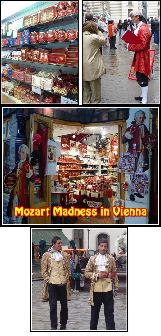 Mozart Vienna Chocolate Salesman Promoter