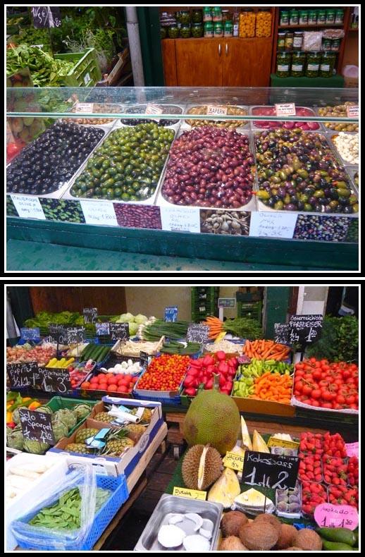 Naschmarkt Vienna Markt Fruits