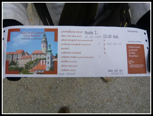 Cesky Krumlov Castle Tour I Tickets